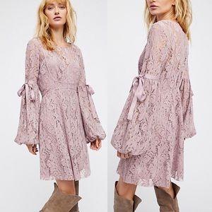 NWOT Free People Lace Dress